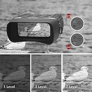 7 level night vision