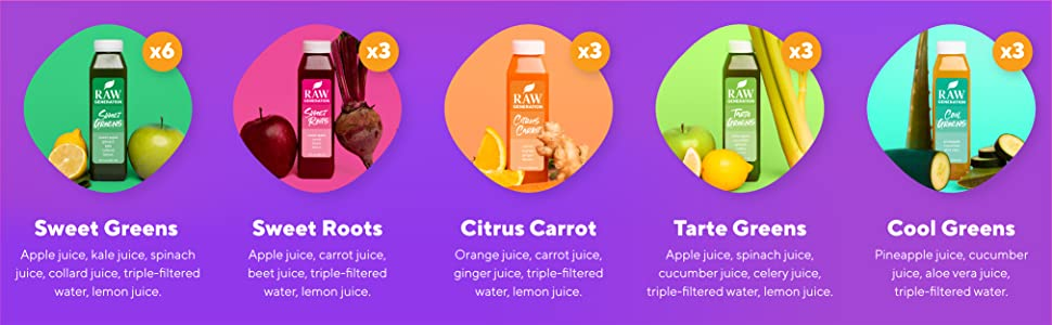 Packed with vitamins and minerals to help your body more easily let go of what's weighing you down.
