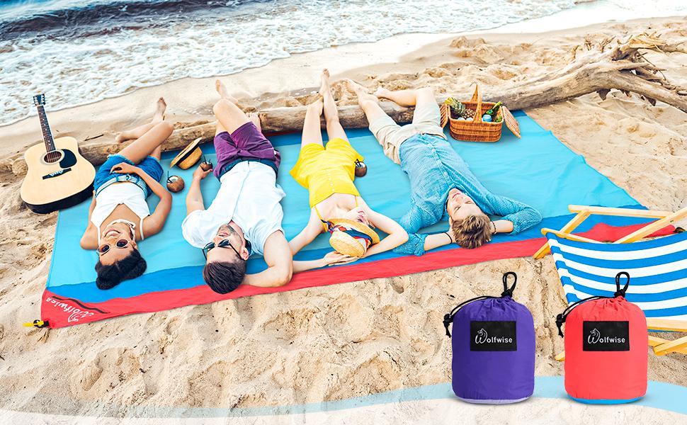 sandabweise Camping Plafond étanches ultralégère Pique-plafond La plage plafond