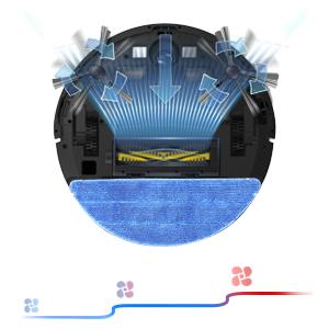 2000Pa super suction power