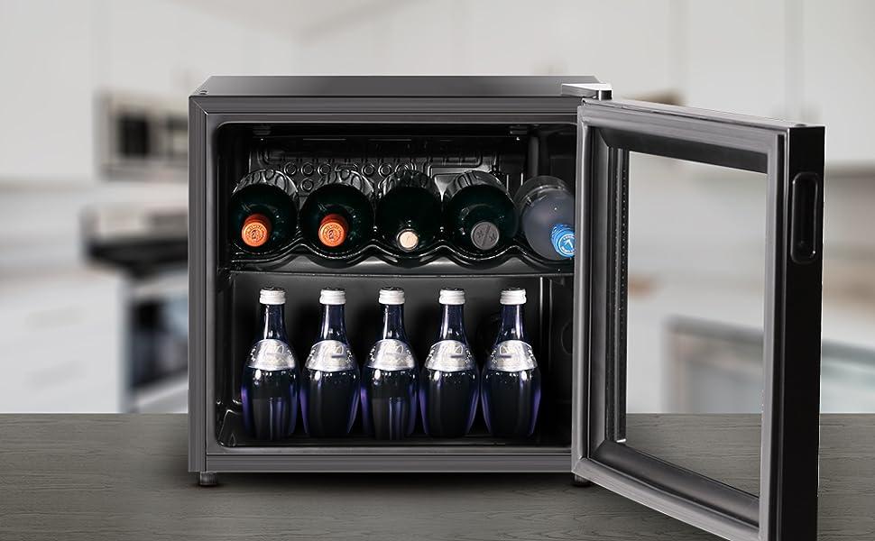Inventor Vino Α+, Nevera para Vinos de Compresor con 43 litros de ...