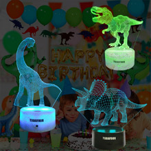 dinosaur night light toy gifts for kids boys girls teens nursery night light Christmas bday gifts