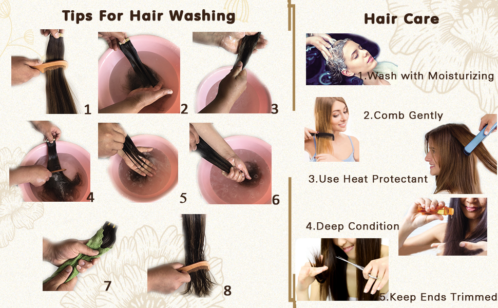 tips for hair washing