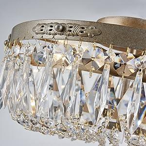 antique silver crystal