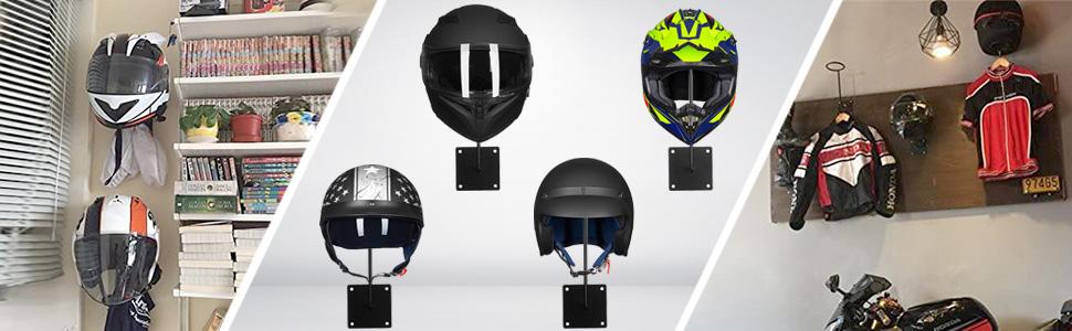 Ilm Kleiderhaken Für Motorradhelm Und Jacke Auto