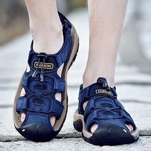 summer footwear velcro sandals mens mens sandals sale velcro flip flops mens