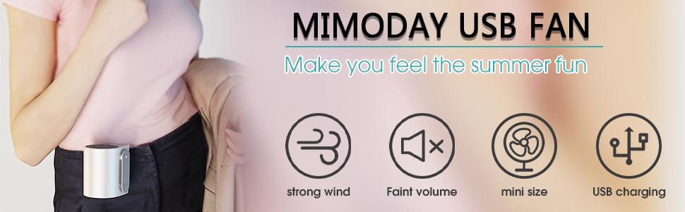MIMODAY USB FAN
