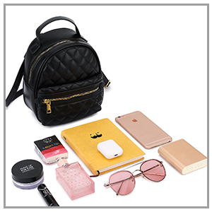 Small backpack purse women