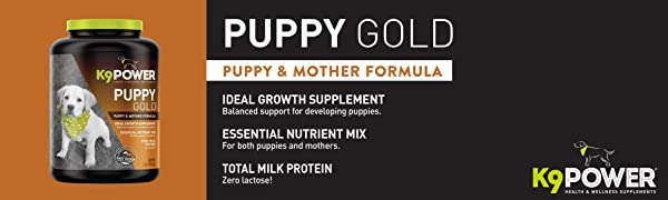Puppy Gold puppy and mother formula