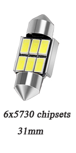 20 X T10 W5W 168 194 8 SMD LED Bulb Light White Lights For Car BT A6A5