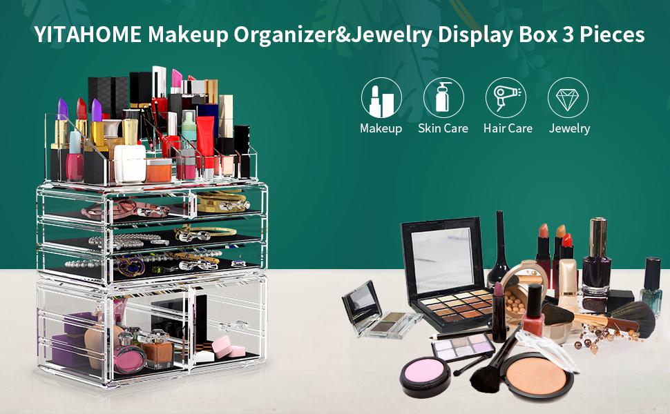 makeup organizer 3 layers