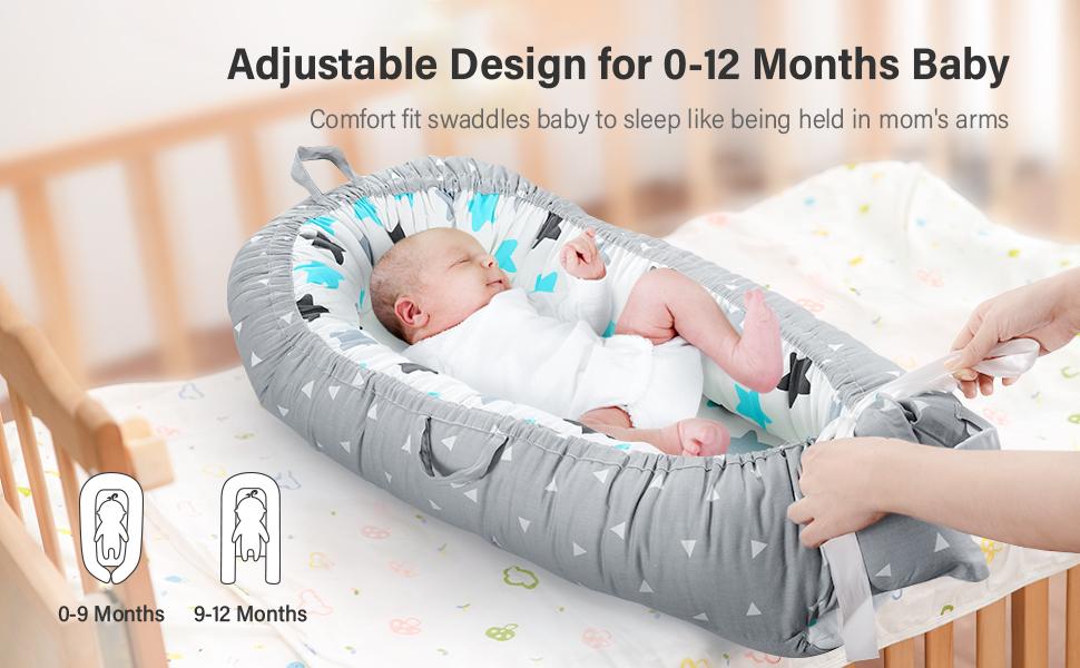adjustable baby lounger co sleeper