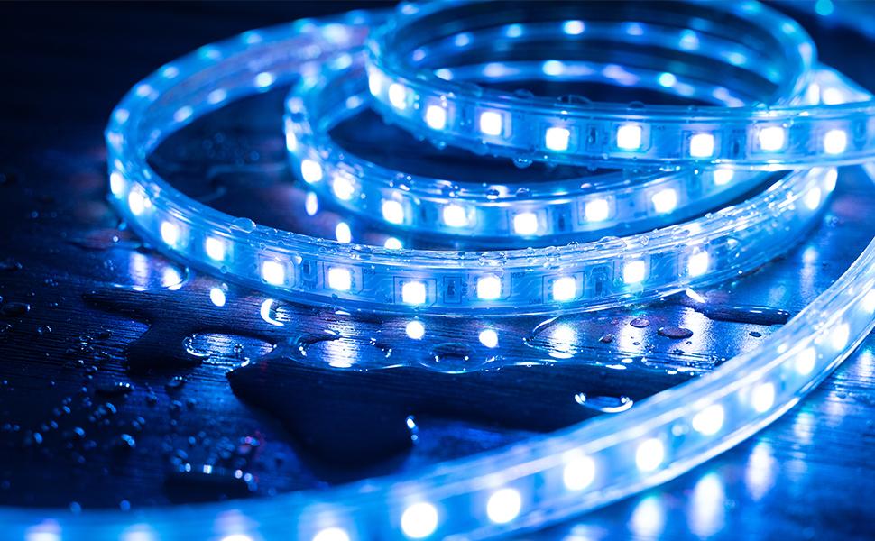 weatherproof ip67 led light stripe
