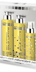 Gold Lifting, April et Nature, trattamento ricci perfetti, shampoo professionale per capelli ricci
