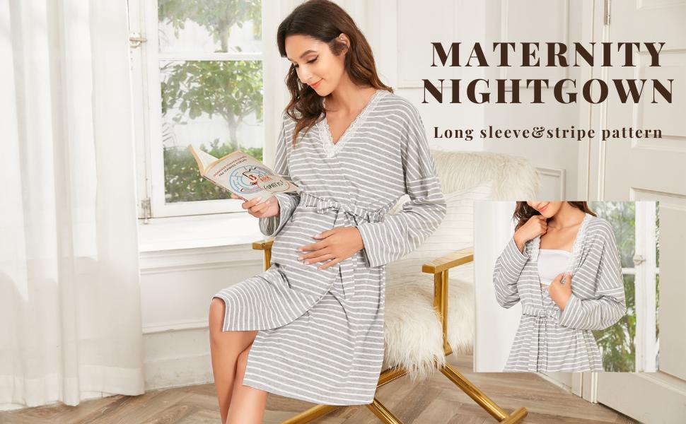 Pregnancy Nightgown