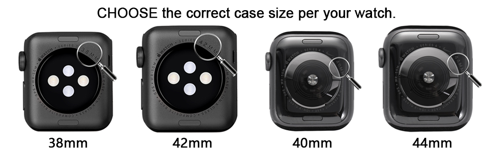 How to choose the screen protector case size for your watch?