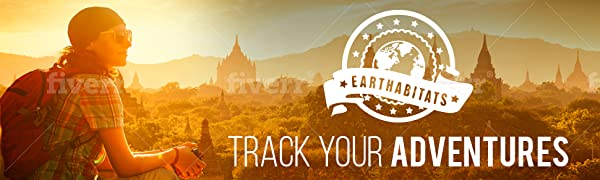 Track Your Travels with the Earthabitats Scratch Off World Map