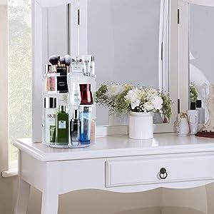 Kosmetik Organizer Makeup Organisator  Kosmetik Aufbewahrungsbox  kosmetikorganizer drehbar