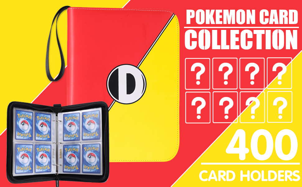 Pokemon binder with pages