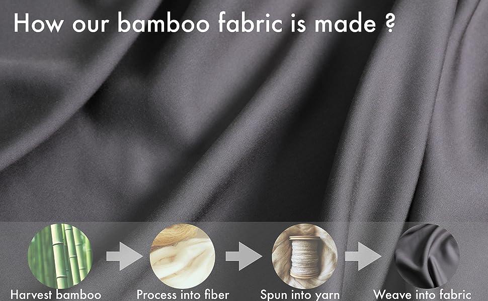 dark grey bamboo sheets