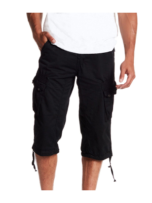 These cargo shorts