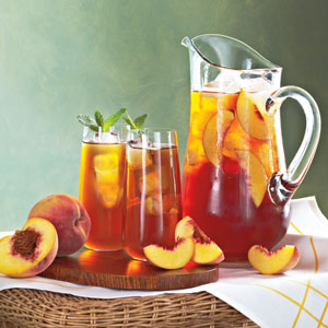 Ginger peach Iced