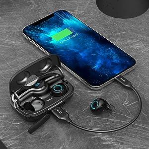 wireless earbuds waterproof wireless earbuds for running wireless earbuds bluetooth