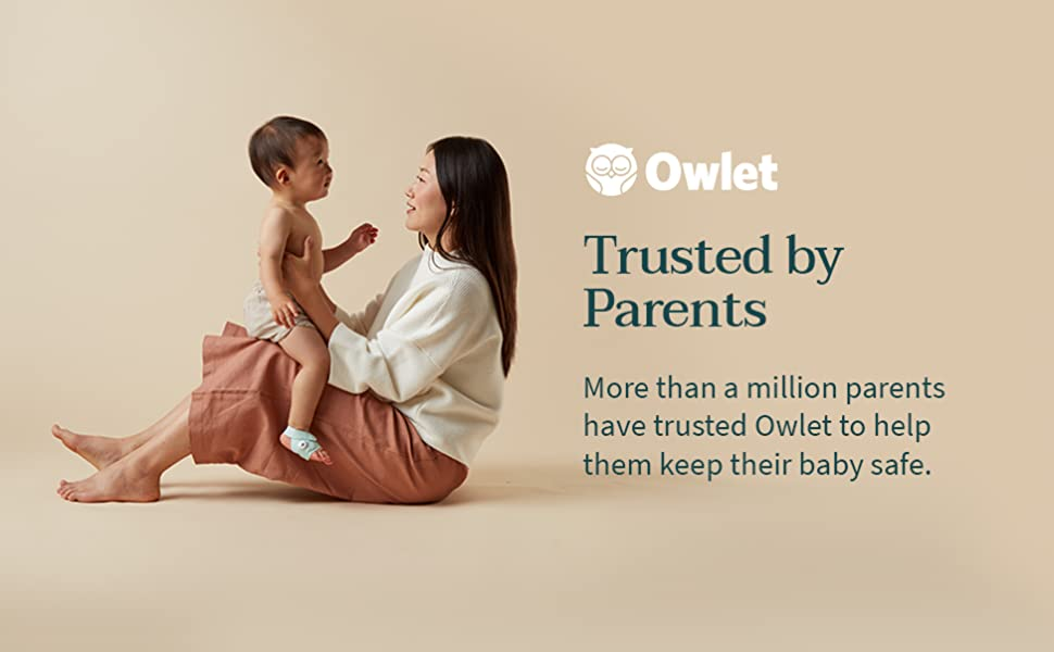 Owlet is trusted by parents