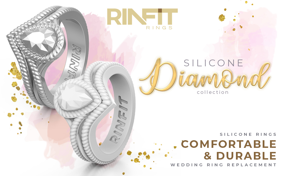 wedding rings from silicone