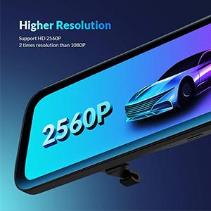 car backup camera 2560P HD