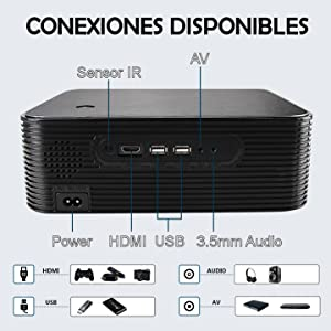 conexiones hdmi usb dolby digital ac3 android bluetooth