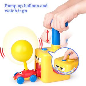 balloon pump car toys