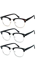 gamma ray optix' 3 pack of reading glasses help keep a pair n your favorite reading place