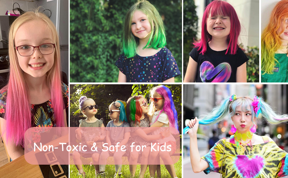 hair chalks for kids