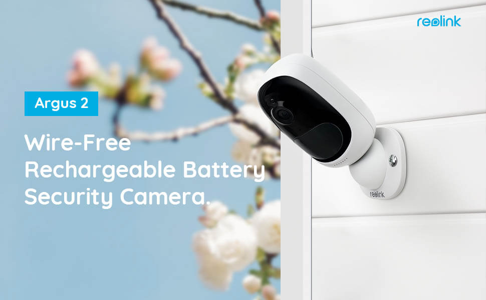wire free security camera outdoor rechargeable battery