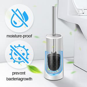 toilet brush and holder