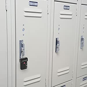 Lockers at schools, gyms and water parks