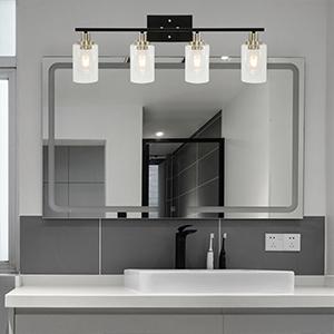 4-light bathroom vanity light