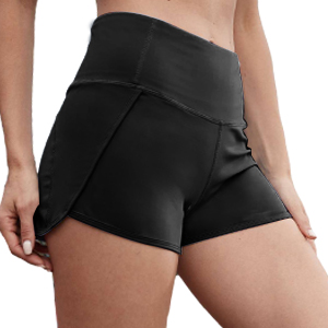 womens running shorts with pockets high waisted