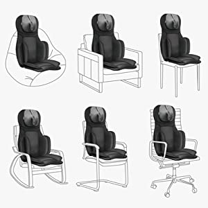 versatile use massage chair cushion pad