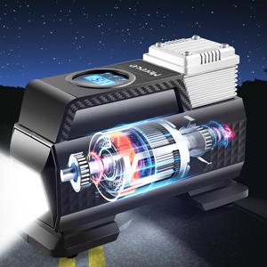 tire inflator portable air compressor pump