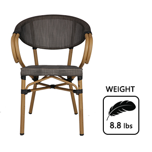 restaurant stackable dining room heavy duty sturdiness well made home balcony furnitur