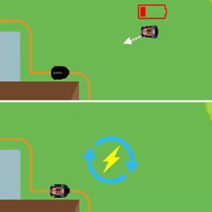 MowRo Charging Illustration