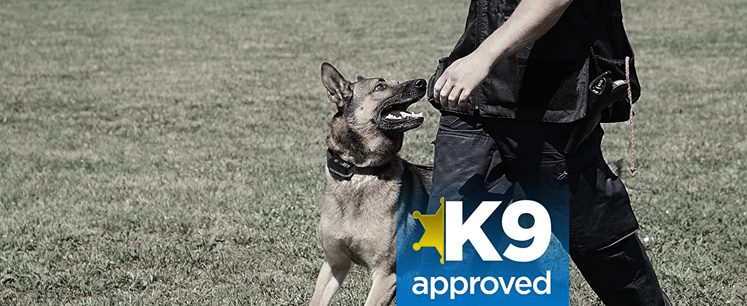 Developed in USA with K-9 experts