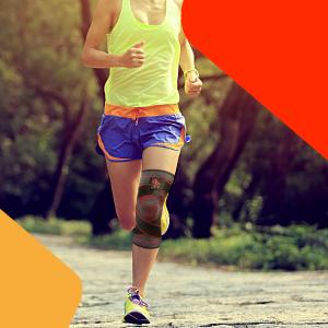 running knee support uflex