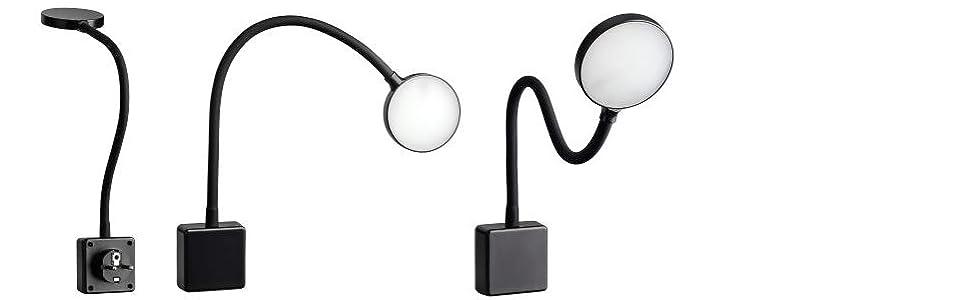 LED contactdooslamp dimbaar LED verlichting voor de contactdoos 2W stekkerlicht flexibel warm wit