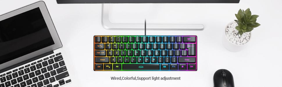 wire keyboard