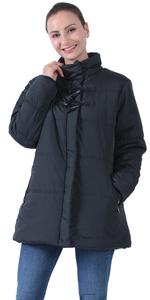 jacket blue woman jackets jackets for spring jacket long black for women lady lightweight hooded coa