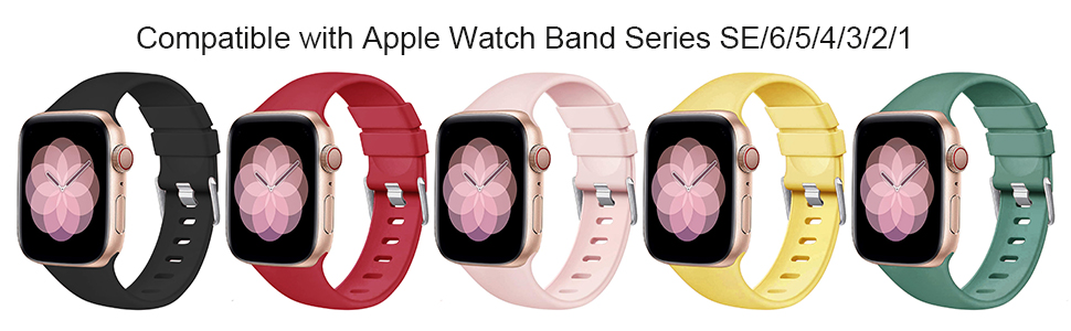 Silicone Bands for Apple Watch