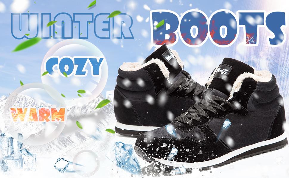 Zapatos Invierno Botas Hombres